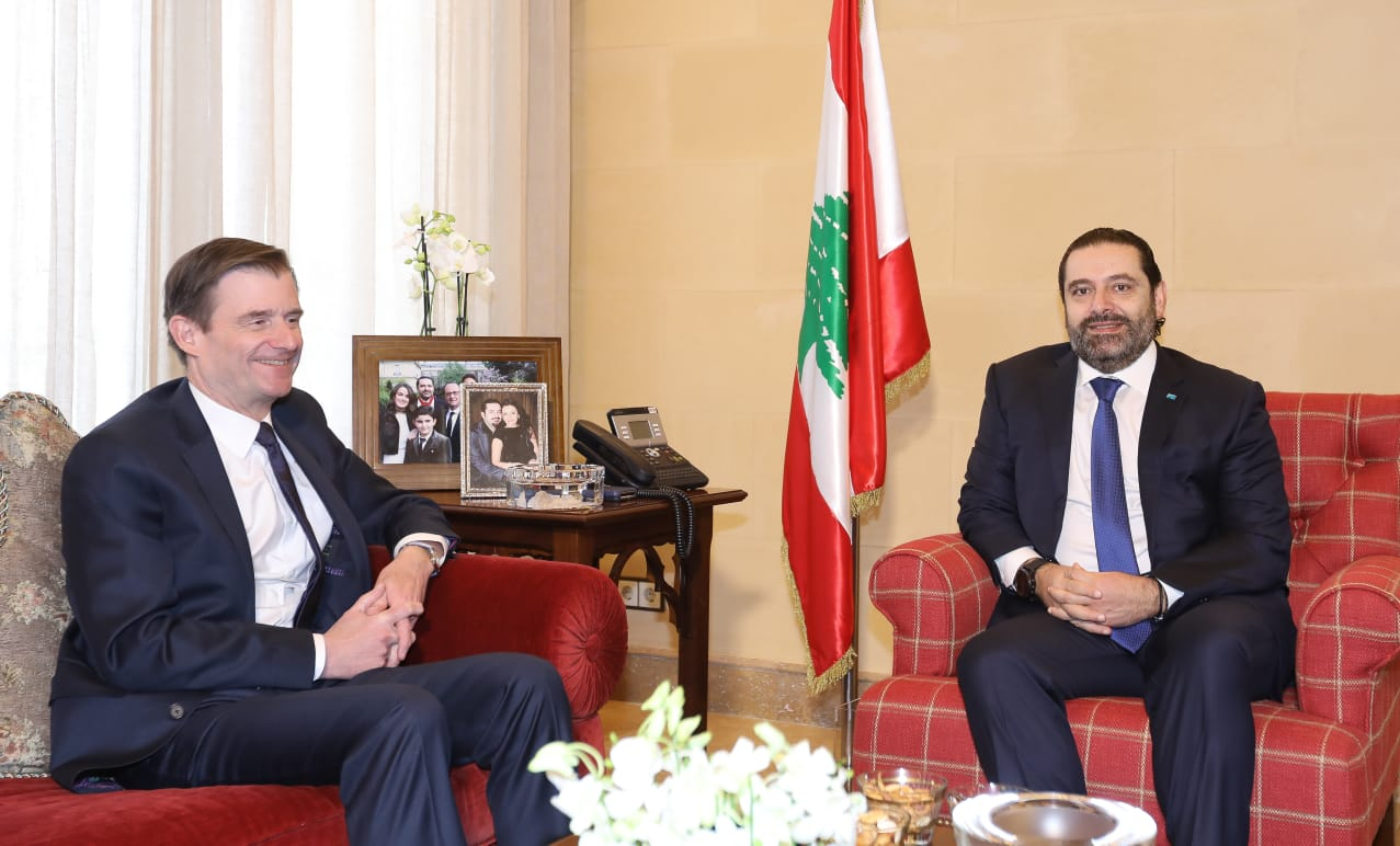 هيل زار الحريري: يهمنا نوع الحكومة المختارة ونثق بقدرة قادة لبنان على إدارة البلاد خلال هذه الاوقات الصعبة