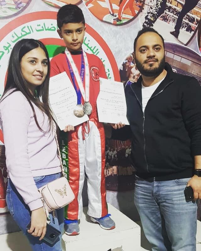 علي أمير حمد بطل لبنان