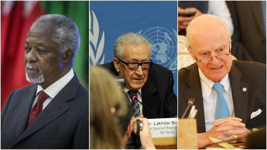 المبعوثون الأمميون إلى سوريا.. استقالة 3 يضعف آمال نجاح الرابع