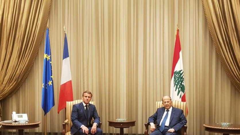 ماكرون في بيروت: لبنان ليس وحيداً ويحتاج اصلاحات او استمر التراجع.. ومن الجميزة: لا مساعدات للفاسدين!