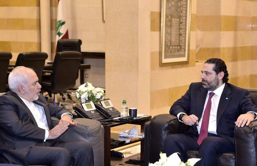لقاء الحريري- ظريف: لبنان يحترم تعهداته والتزاماته