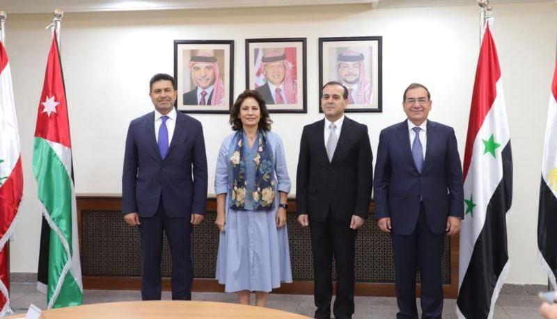 اجتماع مصري أردني سوري لبناني في عمان بحث في ايصال الغاز الى لبنان: 3أسابيع للجهوزية ومراجعة الاتفاقيات وتقييم البنية التحتية