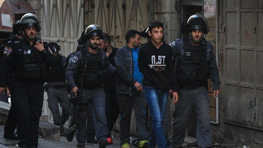 الجيش الإسرائيلي يعتقل 19 فلسطينيا في الضفة الغربية