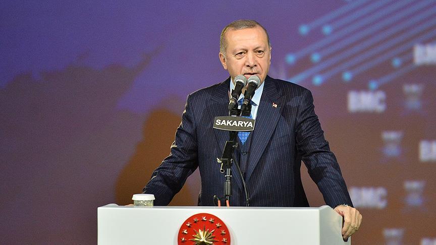 الرئيس أردوغان: سعر الدولار مقابل الليرة آخذ بالهبوط