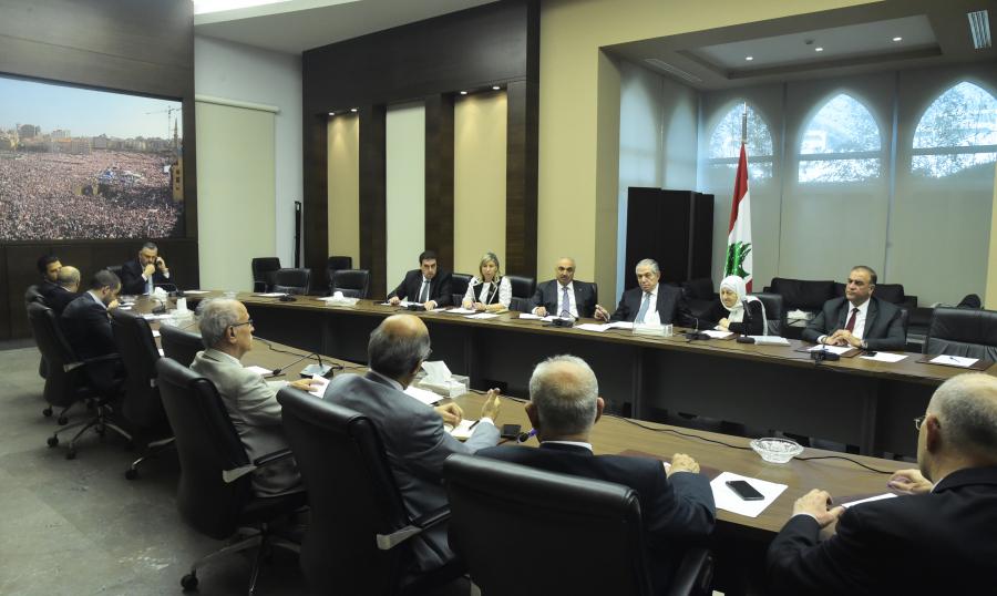 كتلة المستقبل: لاستعادة الدولة هيبتها ومقر رئاسة الحكومة ليس أرضاً سائبة