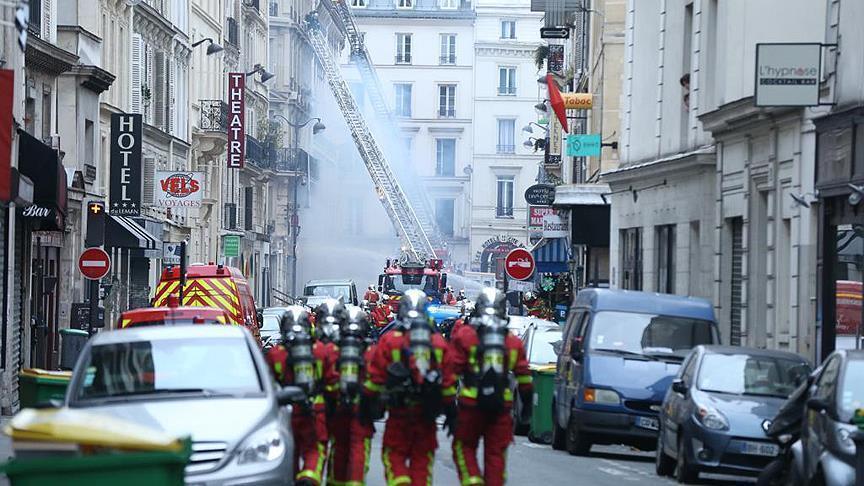 فرنسا.. جرحى جراء انفجار داخل مخبز وسط باريس