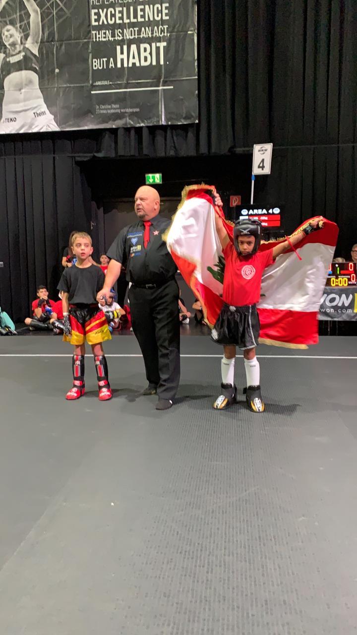 لبنان يشارك في رياضة الكيك بوكسينغ في النمسا