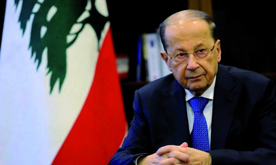 عون: لمنتخب لبنان نأمل الانتصارات