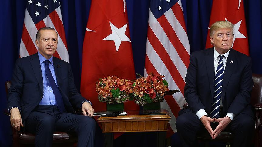 أردوغان يبلغ ترامب استعداد تركيا لتولي الأمن في