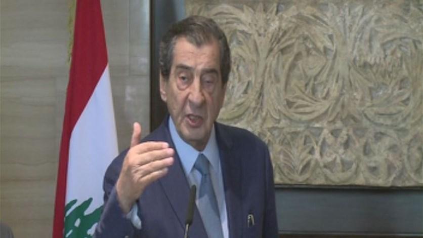 الفرزلي: وجود الحريري على رأس الحكومة أمر غير قابل للمساومة