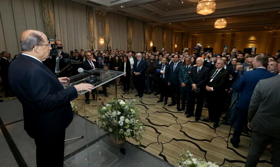 عون من روسيا: نعمل للخروج من الحالة التي يمر بها لبنان وهذا ليس مستحيلا